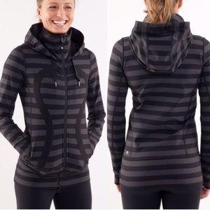 Lululemon. Scuba hoodie workout jacket. SiZe 8